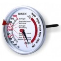 Meat- and oven-thermometer