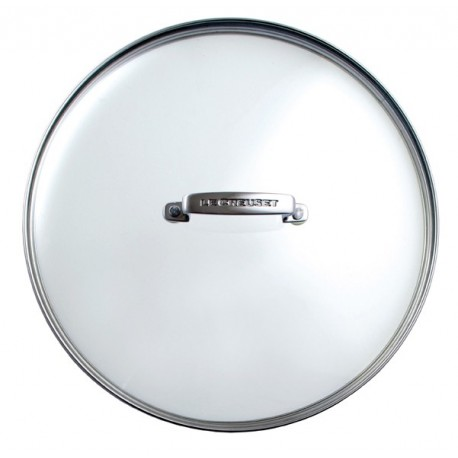 Glass lid for frying pan Le Creuset
