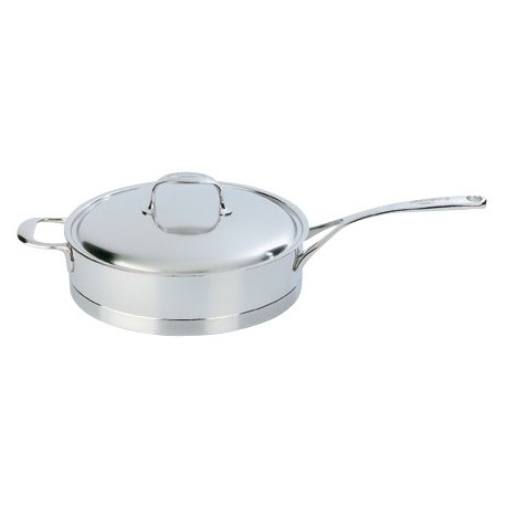 Straight sauté pan with lid ATLANTIS