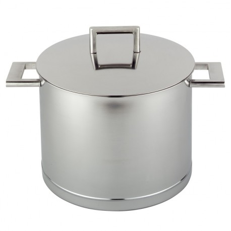 Soup kettle with lid John Pawson