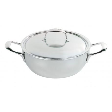 Simmering pot with lid ATLANTIS