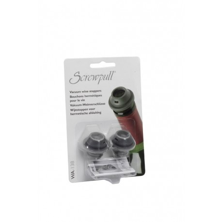 Set of 2 stpperos for wine pump Screwpull WA-137