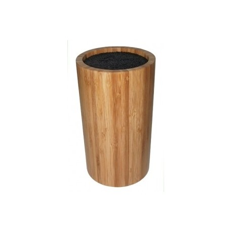 Knifeblock, round BAMBOO by Point-Virgule